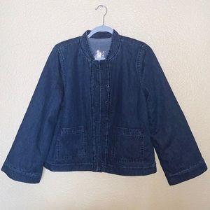NWT Madewell Reversible Sherpa Jean Jacket